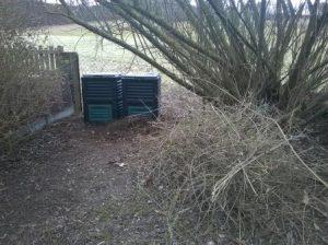 Kompost-Ecke